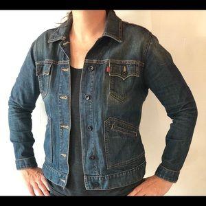 Levi's Denim Jean Jacket Size L